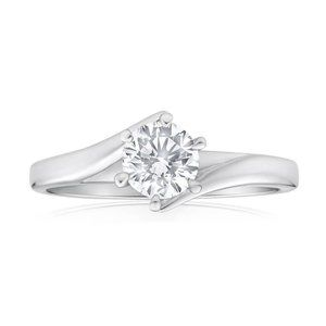 Jewelry - 2ct Six prong set solitaire round cut diamond